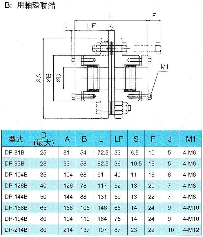 鋼片式聯軸器-3